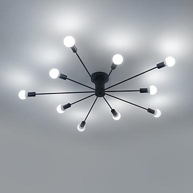 10-luz Sputnik Montagem do Fluxo Luz Ambiente Acabamentos Pintados Metal Estilo Mini 110-120V / 220-240V Branco Quente / Branco Lâmpada Não Incluída / E26 / E27