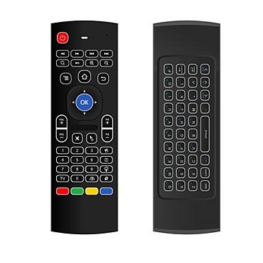 billige TV-bokser-MX3 Air Mouse / Fjernkontroll Mini 2,4 GHz trådløs Trådløst Air Mouse / Fjernkontroll Til Linux / Android / Windows