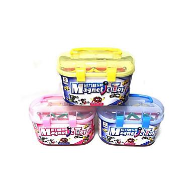 Blocos Magnéticos Palitos Magnéticos Blocos de Construir Playsets veículos Brinquedos Magnética Para Meninas Unisexo Brinquedos Dom