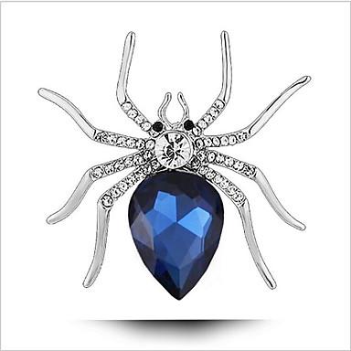 Mulheres Cristal Broches - Animal Broche Azul Real Para Casamento / Festa / Ocasião Especial
