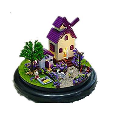 Casa de Boneca Madeira Circular O Castelo no Céu Unisexo Dom