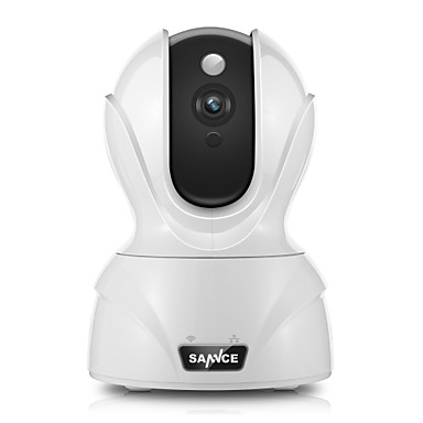 Sannce® 2.0 Mp 1080p Hd Mini Telecamera Di Sicurezza Wifi Intelligente Con Ir-cut 64 (accesso Notturno A Distanza) Audio A 2 Vie #05787801