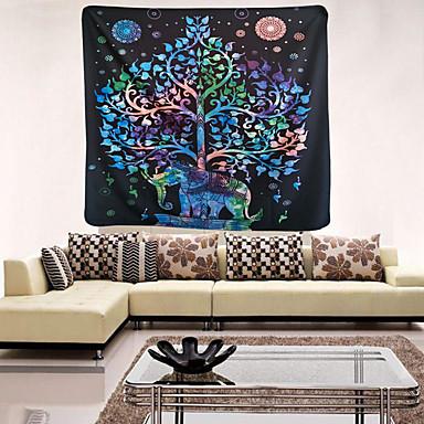 동물 벽 장식 패브릭 우아한 벽 예술, 벽 태피스트리 의
