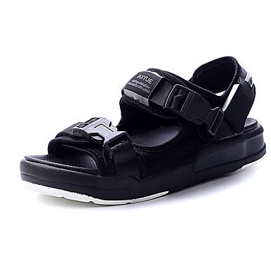 Damen Schuhe Tüll Sommer Creepers Sandalen Creepers Schwarz / Rot