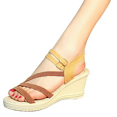 Blanco Sandalias Cuña Oscuro aire Morrón Mujer Verano Tacón Negro 05815860 Al Confort PU libre Zapatos para fIWS4gH