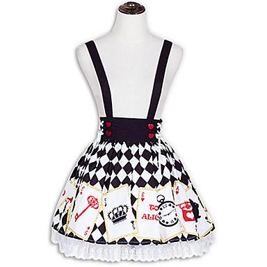 Sukně Sweet Lolita Lolita Cosplay Lolita šaty Módní Krátký / Mini Sukně Pro