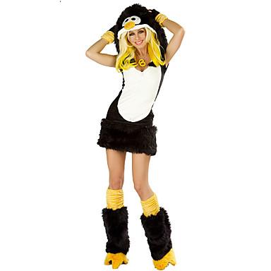 Zvířecí Cosplay Kostýmy Dámské Halloween Festival / Svátek Halloweenské kostýmy Černobílá Ostatní