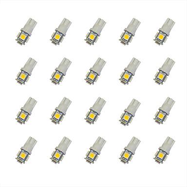 T10 Carro Lâmpadas 0.8W W SMD 5050 55lm lm LED Lâmpada de Seta ForUniversal