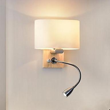 الحديثة / المعاصرة مصابيح الحائط الخشب / الخيزران إضاءة الحائط 110-120V / 220-240V 40W