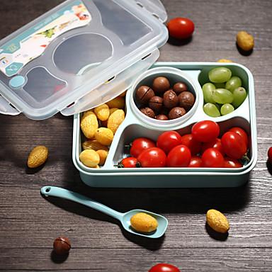 1pc Madpakkebokse Plastik Nem at Bruge Køkkenorganisation