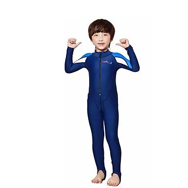 Dive&Sail Para Meninos Segunda-pele para Mergulho Secagem Rápida Respirável Compressão Elastano Manga Longa Anti Atrito Mergulho