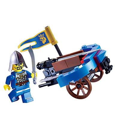 ENLIGHTEN Carros de Brinquedo / Blocos de Construir / Brinquedo Educativo Guerreiro Para Meninos Dom