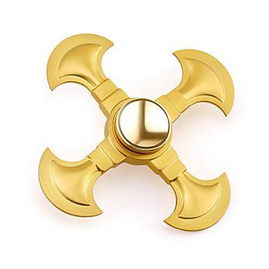 Spinners de mão / Mão Spinner Por matar o tempo / O stress e ansiedade alívio / Brinquedo foco Quatro Spinner Metalic Clássico Peças Adulto Dom