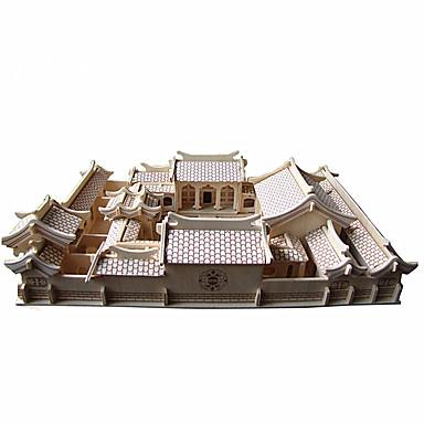 3D puzzle Slavné stavby Čínské stavby Zábava Dřevo Klasické