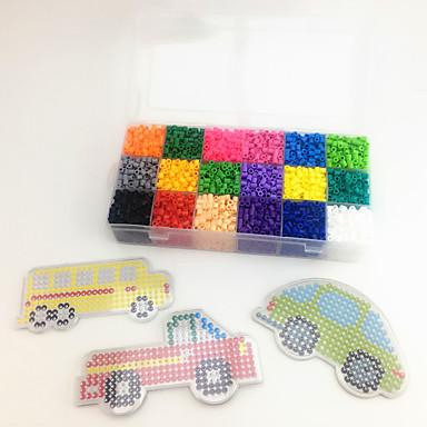 Autíčka Puzzle Vzdělávací hračka Náklaďák Kreslení Auto Autobus Náklaďák Udělej si sám Dětské Unisex