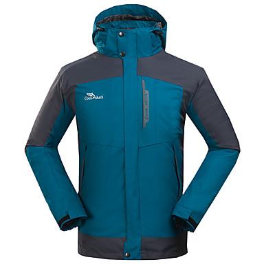 Herrn 3-in-1 Jacken Außen Winter Wasserdicht warm halten Windundurchlässig Fleece Innenfutter Regendicht tragbar Atmungsaktiv Komfortabel