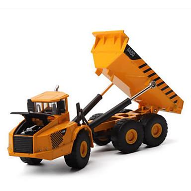 Caminhão Caminhão basculante Caminhões & Veículos de Construção Civil Carros de Brinquedo Metal Crianças Brinquedos Dom