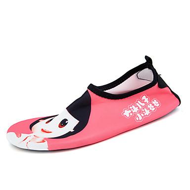 로퍼&슬립-온-야외-여성-조명 신발-패브릭-플랫-