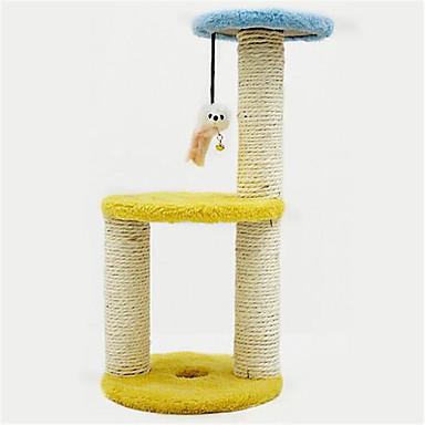 Hračka pro kočky Hračky pro zvířata Interaktivní Škrabadlo Sisal