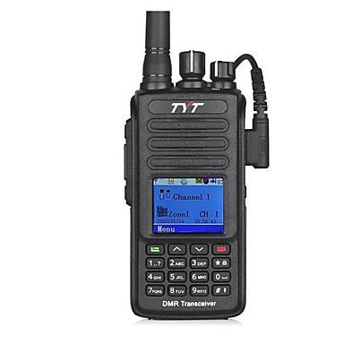 billige Walkie-talkies-TYT MD-390 Håndholdt Lader og adapter / Kryptering / CTCSS / CDCSS 1000 2200 mAh Walkie Talkie Toveis radio