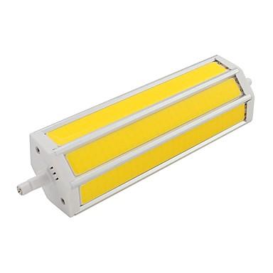 14W 350lm R7S LED bodovky Trubice 3 LED korálky COB Teplá bílá Chladná bílá 85-265V