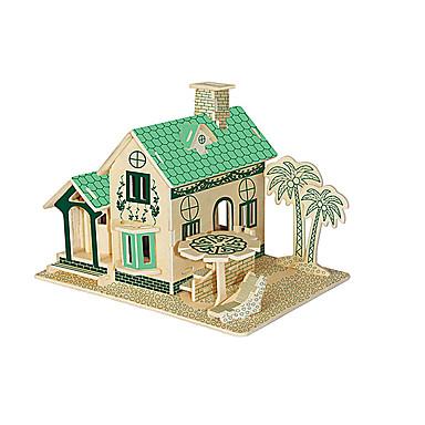 직소 퍼즐 3D퍼즐 빌딩 블록 DIY 장난감 장난감 나무 모델 & 조립 장난감