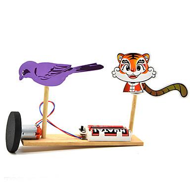 Brinquedos de Ciência & Descoberta Brinquedos Animal Plástico Metal Crianças Peças