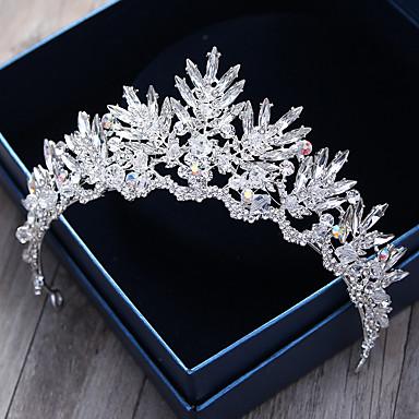 Krystall / Strass / Aleación Tiaras / Stirnbänder / Kopfbedeckung mit Blumig 1pc Hochzeit / Besondere Anlässe / Draussen Kopfschmuck / Haarnadel
