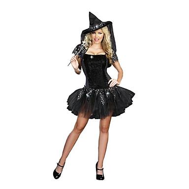 Čaroděj/Čerodějnice Cosplay Kostýmy Dámské Halloween Festival/Svátek Halloweenské kostýmy Ostatní