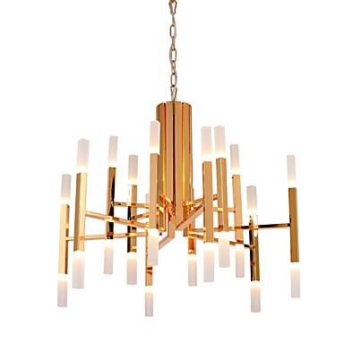Ecolight™ Lustres Luz Ambiente - LED Designers, Moderno / Contemporâneo, 110-120V 220-240V, Branco Quente, Lâmpada Incluída