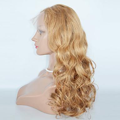 Szintetikus csipke front parókák Hullámos haj Csipke eleje Természetes paróka Szintetikus haj