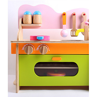 Conjuntos Toy Cozinha Brinquedos Madeira Para Meninas Crianças Dom 1pcs