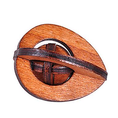 Quebra-Cabeças de Madeira Quebra-Cabeças Inteligentes Quebra-Cabeça Luban Quadrada Teste de QI Madeira Unisexo Dom