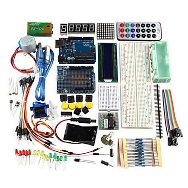 Uno r3 grunnleggende startopplæring kit oppgraderingsversjon for arduino