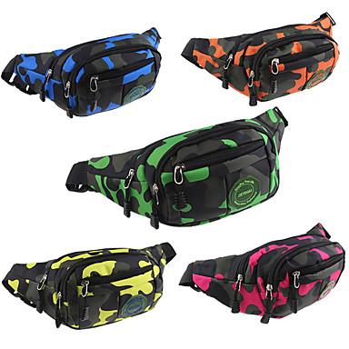 10 L حقائب الخصر - مكتشف الأمطار, مكتشف الغبار, متنفس في الهواء الطلق التخييم والتنزه, التسلق, رياضة وترفيه برتقالي, أحمر, أصفر