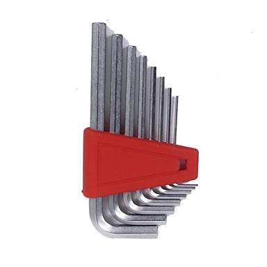 Pb schweizer Werkzeuge l Typ Flachkopf sechs Ecken 8 Stück / 1 Sätze