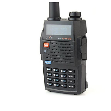 TYT TH-UVF9D واكي تاكي حاملة اليد انذار في حالات الطوارئ / صوت موجه / VOX 256 اسلكية تخاطب راديو إرسال واستقبال