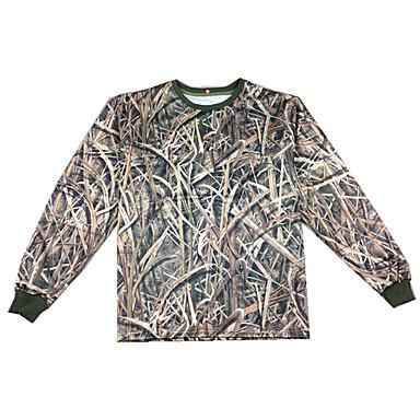 Unisex Vrchní část oděvu Lov Nositelný Pohodlné Jaro Léto Podzim Zima Výkon Cvičení Venkovní 1 ks