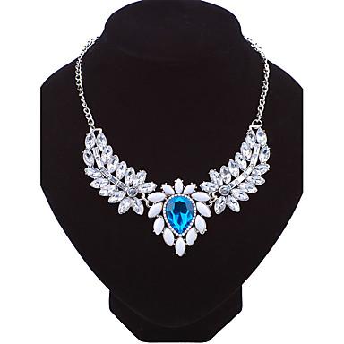 Dámské Řetízky Flower Shape Slitina Módní Euramerican Šperky Pro Svatební Párty Zvláštní příležitosti Narozeniny Zásnuby Denní Ležérní