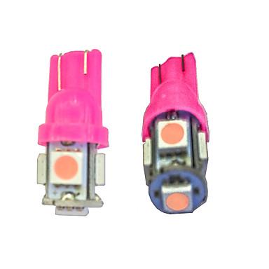10pçs T10 Carro Lâmpadas 0.8W SMD LED 55lm LED Lâmpada de Seta For Universal
