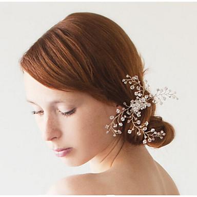 Kristall Haar Kämme Kopfstück Hochzeitsgesellschaft elegant femininen Stil