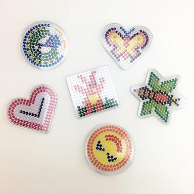 Quebra-Cabeça Brinquedo Educativo Brinquedo de Arte & Desenho Quadrada Circular Coração Faça Você Mesmo Crianças Unisexo