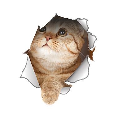 حيوانات أزياء كارتون ملصقات الحائط لواصق حائط الطائرة لواصق حائط مزخرفة لواصق المرحاض, الفينيل تصميم ديكور المنزل جدار مائي جدار مرحاض