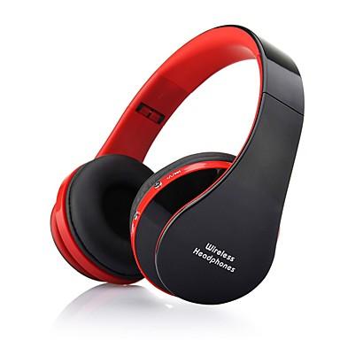 NX-8252 Sobre o ouvido Sem Fio Fones Dinâmico Plástico Celular Fone de ouvido Com controle de volume / Com Microfone / Isolamento de ruído