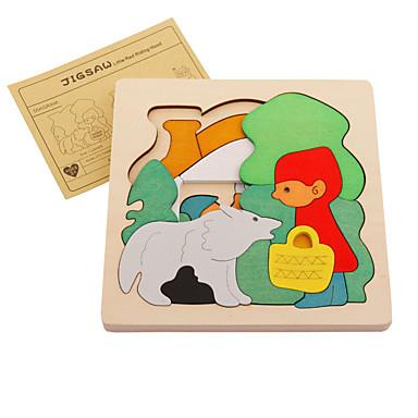 Muwanzi 직쏘 퍼즐 나무 퍼즐 광장 애니멀 나무 카툰