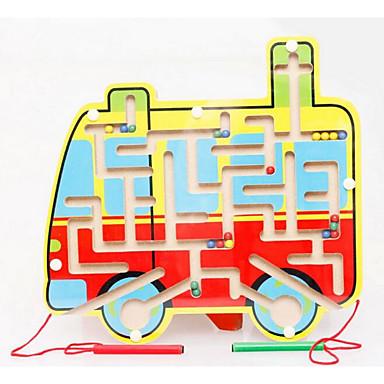 Labirintos Magnéticos Ônibus Magnética / Clássico Para Meninos Dom