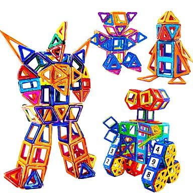 Blocs Magnétiques Carreaux magnétiques Blocs de Construction 228 pcs Robot Jouet Vapeur compatible Legoing Magnétique Garçon Fille Jouet Cadeau