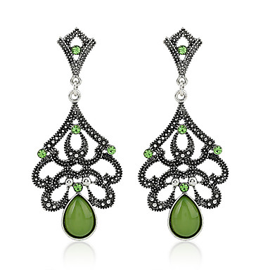Women's Emerald - Emerald Vintage, Basic Jewelry Green / Light Blue For Party Gift Evening Party Date Club