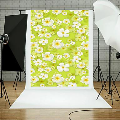 5x7ft 꽃 벽 바닥 사진 스튜디오 배경 소품 블루 보드 테마 새로운