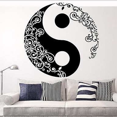 Volný čas Samolepky na zeď Samolepky na stěnu Ozdobné samolepky na zeď, Vinyl Home dekorace Lepicí obraz na stěnu Stěna
